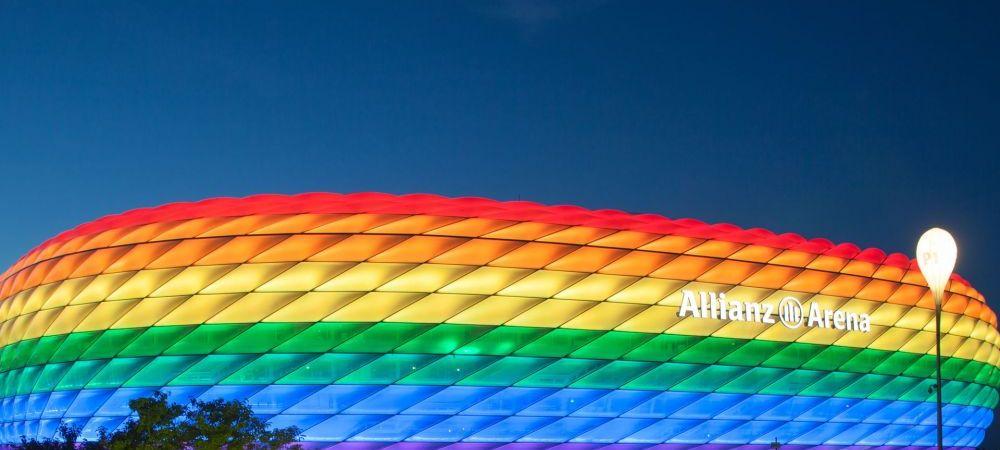 Ungaria, reactie oficiala dura la planul Munchenului de a ilumina Allianz Arena in culorile steagului LGBT