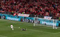 Gafa de amatori a rusilor in meciul cu Danemarca! Mijlocasul i-a facut cadou balonul atacantului nordicilor