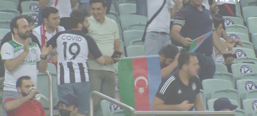 Cel mai inventiv fan de la EURO 2020? Ce tricou a purtat un turc din tribune