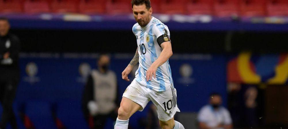 Messi e la un pas sa scrie istorie! Si-a calificat nationala in sferturile Copa America si l-a egalat pe Mascherano intr-un clasament important