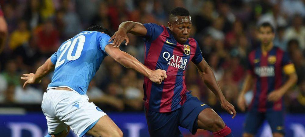 Barcelona e pregatita sa dea o noua lovitura in mercato!Transferul genial gandit de catalani, care il are in prim-plan pe Adama Traore