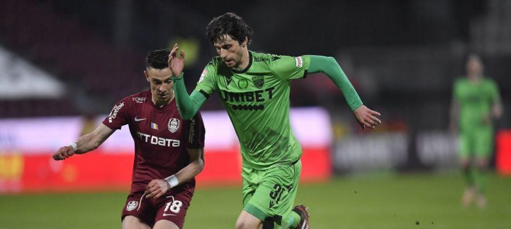 """""""Cred ca Fabbrini poate juca in orice echipa!"""" Valeriu Iftime, cuvinte de lauda pentru fotbalistul lui Dinamo"""