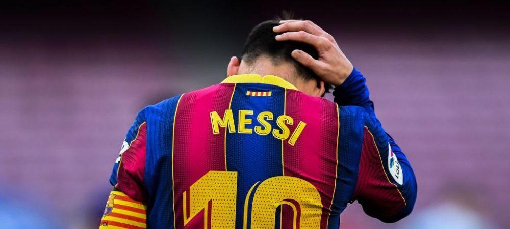 Messi intarzie sa-si puna semnatura pe noua intelegere cu Barcelona!Detaliile contractului pe care i l-a propus Laporta