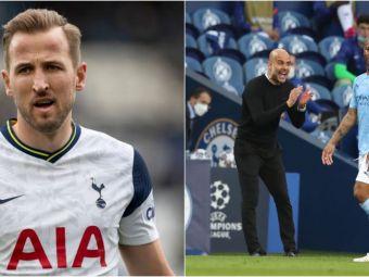 Transferul lui Kane la Manchester City a picat! Cum a blocat Raheem Sterling mutarea verii in fotbalul englez