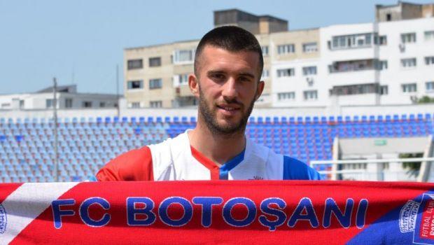 """FC Botosani incearca sa """"inventeze"""" un nou golgheter! Echipa lui Croitoru si-a prezentat noul atacant pentru sezonul urmator"""