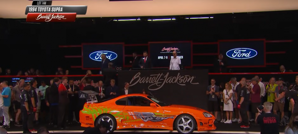 A fost vanduta masina din primul Fast and Furious! Suma fabuloasa obtinuta pe masina condusa de Paul Walker