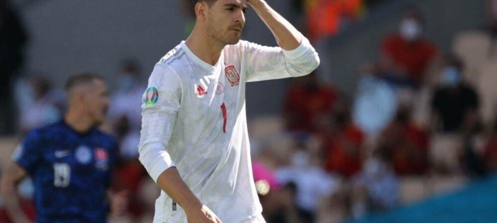 Contraperformanta incredibila realizata de Spania la Euro! Borna de nedorit atinsa de fotbalistii lui Luis Enrique