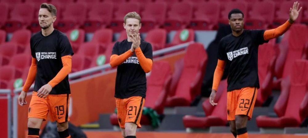 Lovitura pentru Olanda: De Jong este out de la Euro! Poate rata si inceputul La Liga