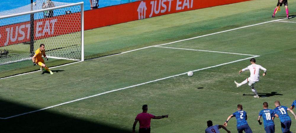 Morata, tinta ironiilor dupa penalty-ul ratat in meciul cu Slovacia! Ce a postat Burger King pe Twitter