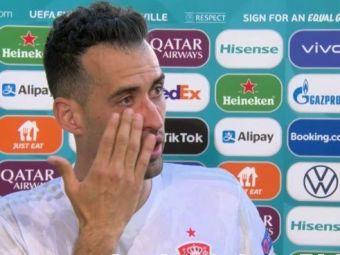Sergio Busquets, in lacrimi dupa revenirea in echipa Spaniei! Ce a spus jucatorul Barcelonei dupa victoria zdrobitoare in fata Slovaciei