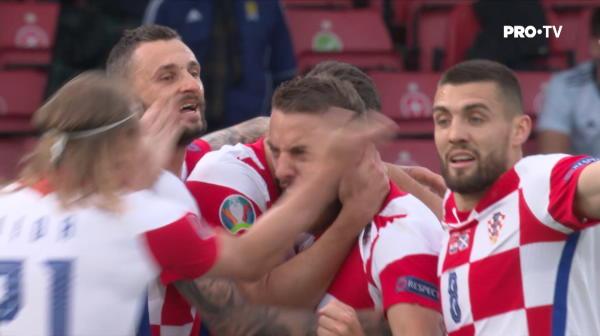 Un gol a facut diferenta pentru Croatia, care si-a asigurat locul in optimi! Victorie clara cu Scotia