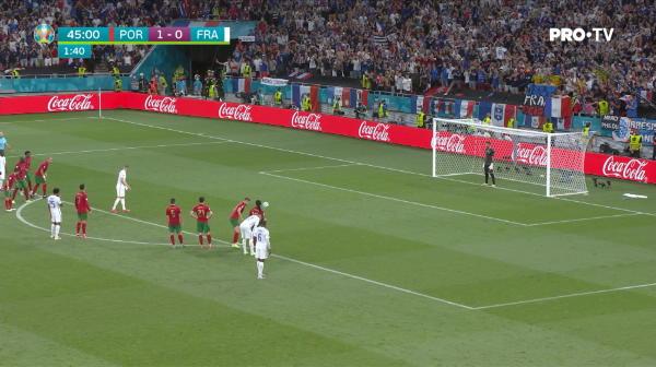GOOOOOOOL Franta! Benzema a executat perfect lovitura de la 11 metri si a restabilit egalitatea