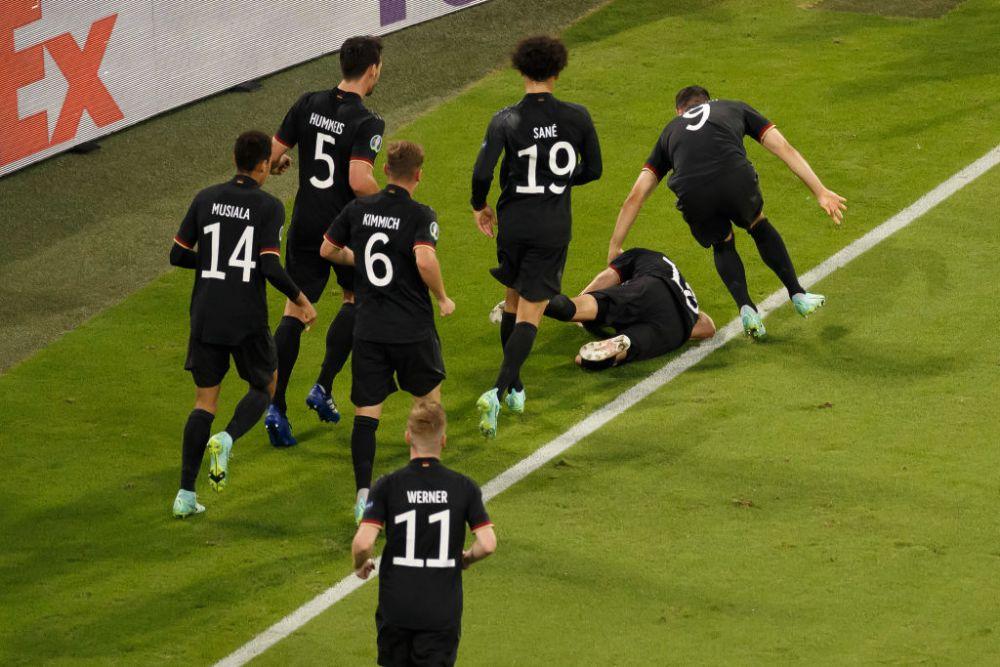 Ziua nebuna de la Euro in imagini! Vedetele si-au facut aparitia in ultimele meciuri din faza grupelor