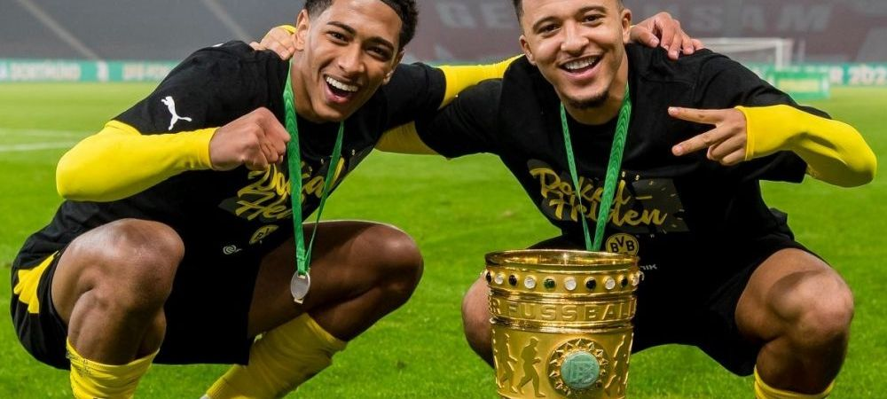 Manchester United il transfera pe Jadon Sancho!Transferul va fi anuntat dupa incheierea Euro 2020