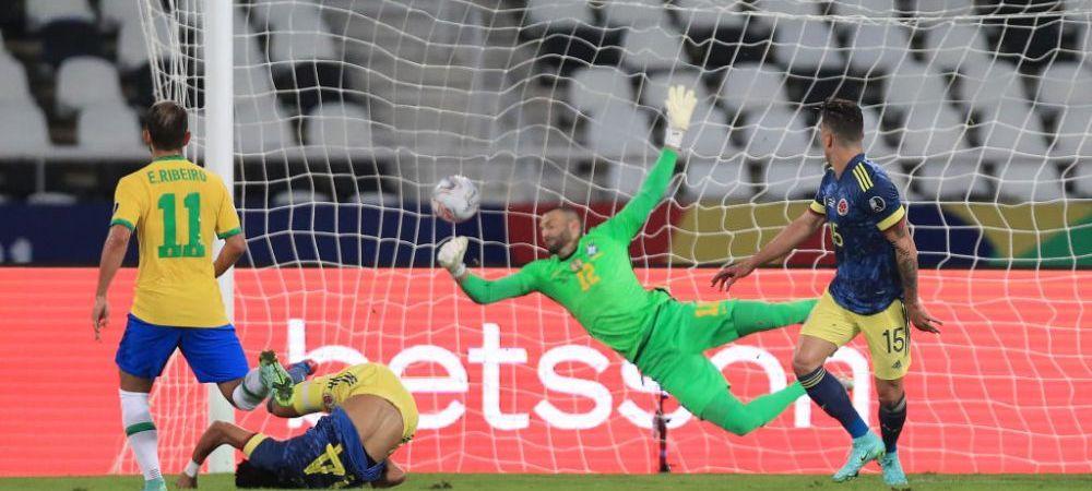 """Golul care face inconjurul lumii vine de la Copa America! """"Foarfeca"""" senzationala care i-a naucit pe brazilieni"""