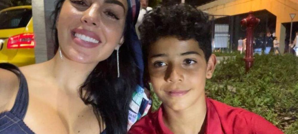 Georgina Rodriguez, spectacol in tribuna la meciul Portugalia – Franta! Cum s-a bucurat bruneta de reusita lui Ronaldo