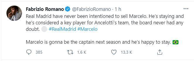 Utimele detalii despre soarta lui Marcelo la Real Madrid! Decizia luata de Ancelotti in privinta fotbalistului