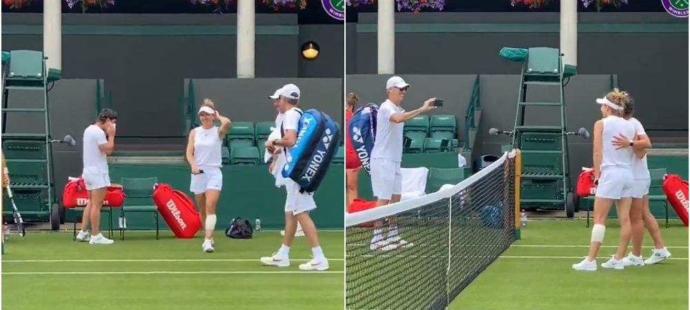 Intalnire speciala pentru Halep la Wimbledon! Tenismena s-a fotografiat cu Carla Suarez Navarro, revenita pe teren dupa ce a invins cancerul