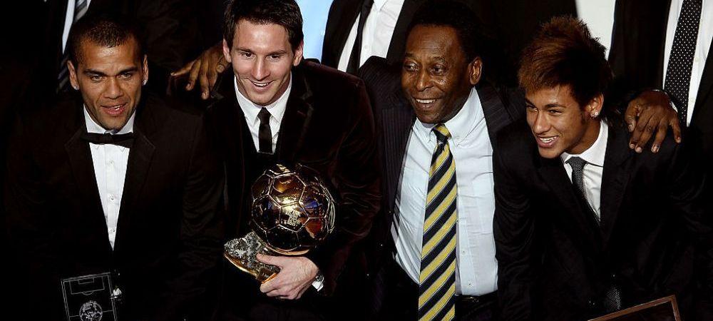 Pele l-a felicitat pe Messi! Mesajul emotionant transmis de legenda Braziliei