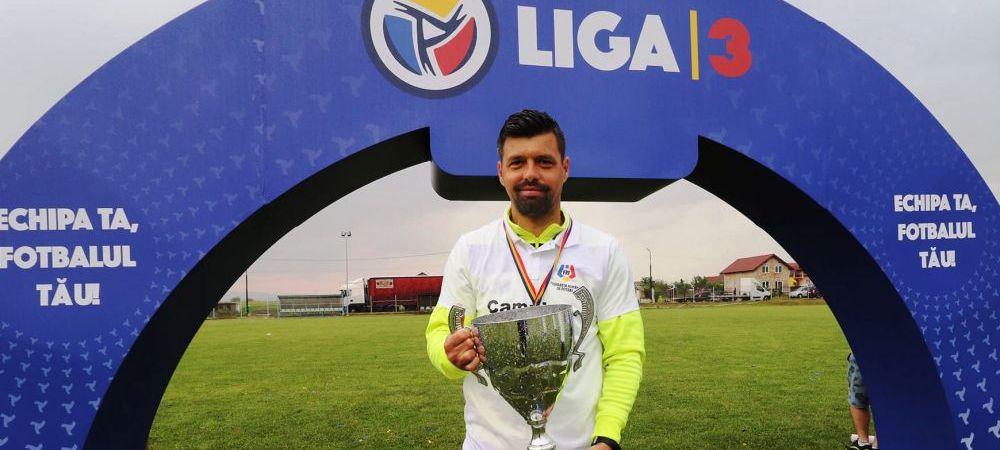 Numai in Romania se intampla! Nu a mai pierdut un meci de 19 luni, dar a fost demis dupa promovarea in Liga 2