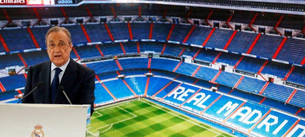 """Florentino Perez: """"UEFA nu se poate atinge de SuperLiga Europeana!"""" Ce spune despre Big 6 din Anglia"""