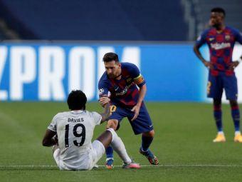 """Pun in rama imaginea aia!"" Absolut genial! L-a intalnit pe idolul Messi si nu a vrut sa uite momentul. Ce a facut starul lui Bayern"