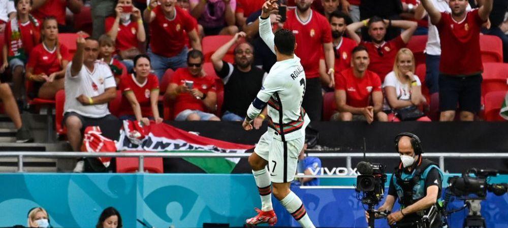 """""""Ronaldo este uneori enervant!"""" Selectionerul Ungariei a explicat reactia furioasa a suporterilor la adresa starului Portugaliei! Ce a spus Rossi"""