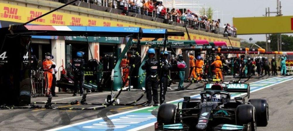 Bottas putea sa produca o tragedie la boxe! Masina celor de la Mercedes AMG Petronas a scapat de sub control