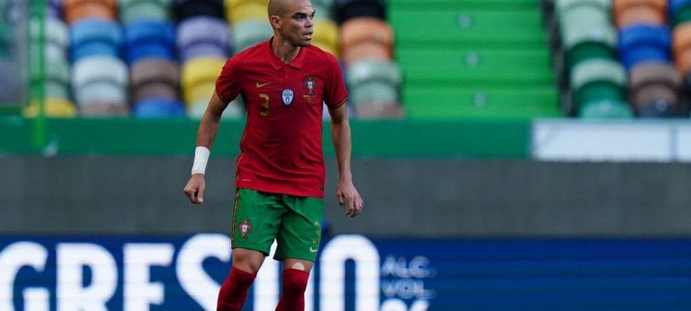E cel mai in varsta jucator de la EURO 2020, dar are fizicul unui sportiv de 24 de ani! Ce mananca Pepe pentru a se mentine