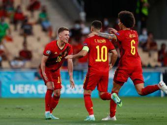 Hazard pentru Portugalia la Euro 2020! :) Campioana en titre, out din optimi dupa o bijuterie a lui Thorgan Hazard! Aici ai tot ce s-a intamplat in Belgia 1-0 Portugalia