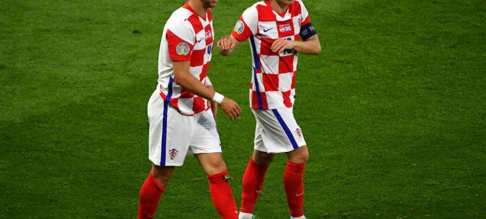 Lovitura pentru Croatia inaintea meciului din optimi cu Spania. Un jucator de baza a fost testat pozitiv cu COVID-19