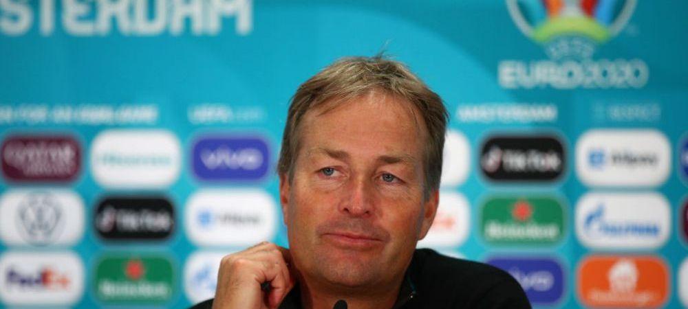 """Antrenorul Danemarcei, in lacrimi dupa calificarea in sferturi: """"Iubirea ne-a dat aripi!"""" Discursul emotionant despre momentul Eriksen"""