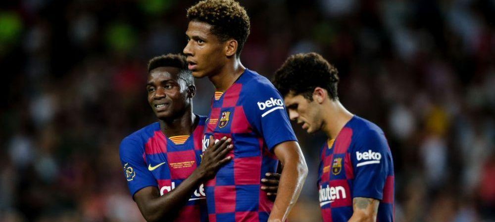 Barcelona a renuntat la fundasul central care a spus ca nu vrea sa mai auda de clubul catalan! Va ajunge la fosta echipa a lui Adrian Ursea