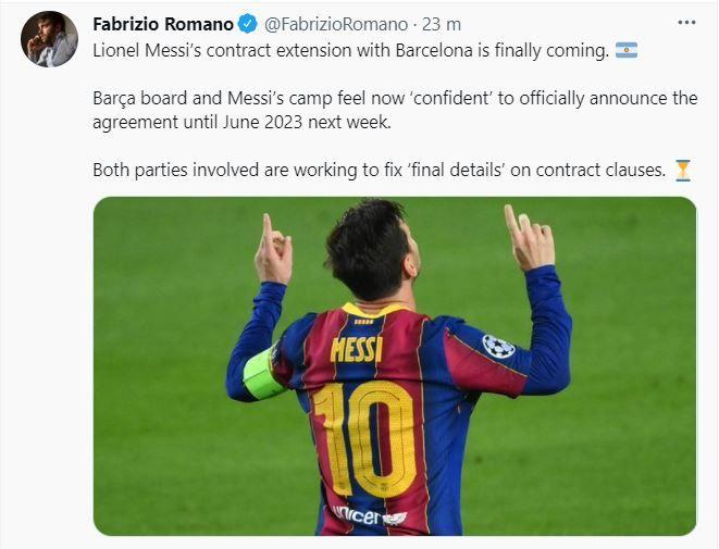 BREKING NEWS   Vestea momentului in fotbalul international! Lionel Messi ramane la Bercelona. Detaliile contractului