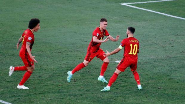 """Nici n-a vazut-o! """"Torpila"""" lui Thorgan Hazard l-a lasat spectator pe Rui Patricio. Executie de vis a mijlocasului belgian"""
