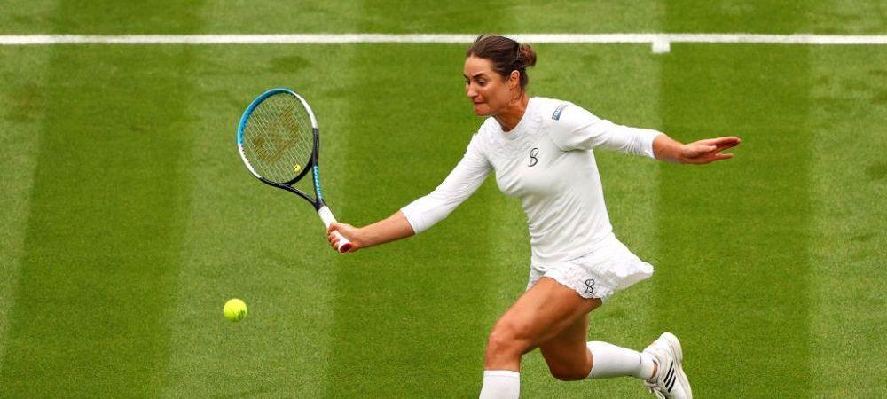 Monica Niculescu, invinsa de Aryna Sabalenka, 6-1, 6-4 in meciul de deschidere al Wimbledon 2021. Mihaela Buzarnescu vs. Venus Williams a fost amanat pentru marti