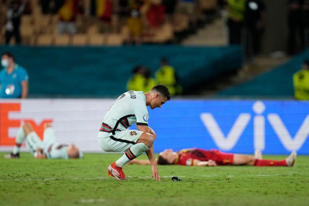 Ronaldo, furios dupa eliminarea de la Euro! Gestul facut de starul portughez la finalul meciului. Nu este pentru prima oara cand face asta