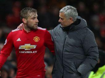 """Luke Shaw ii raspunde lui Mourinho, dupa ce portughezul l-a atacat: """"A fost un manager genial, dar trecutul e trecut! Vad ca nu trece peste"""""""