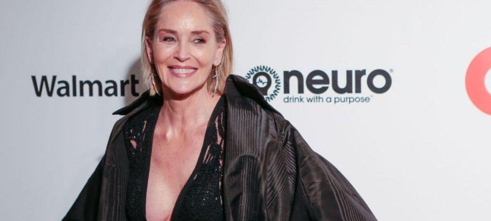 Sharon Stone, prea sexy pentru varsta ei. Actrita a pozat in costum de baie la 63 de ani