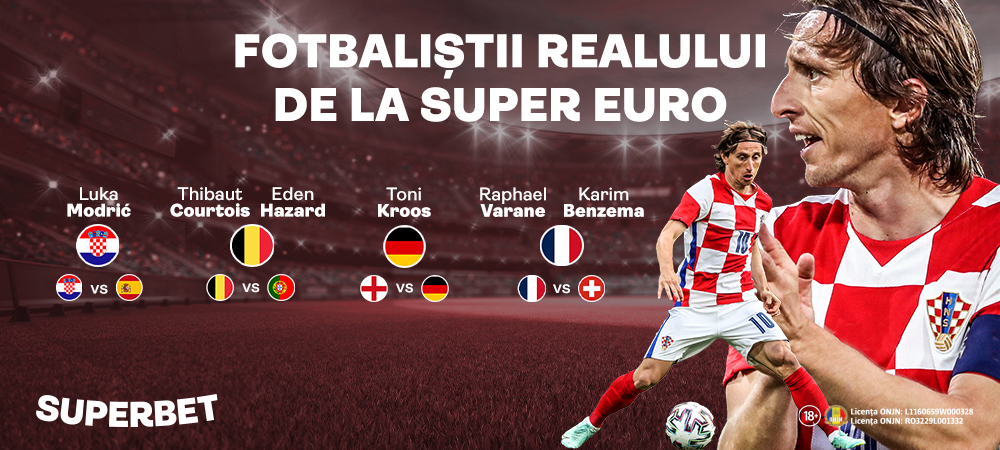 """Modric, primul """"galactic"""" intr-un meci al Spaniei de la SuperEURO! Croatia – Spania e derby-ul zilei"""