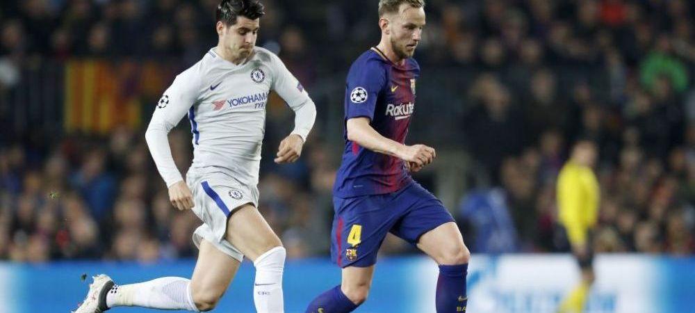 """I-am spus sa dea patru goluri, dar sa piarda cu 4-5"". Discutia amuzanta dintre Ivan Rakitic si Alvaro Morata"