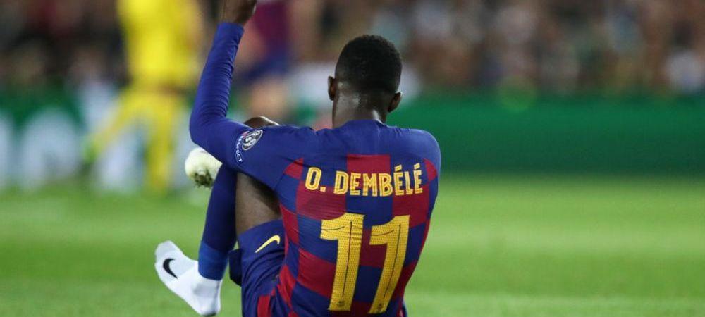 Se confirma cosmarul Barcelonei! Clubul a facut anuntul oficial: cat lipseste Dembele dupa ce a fost operat