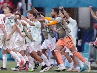 Ce performanta! Spania, prima echipa din istoria EURO care marcheaza cate cinci goluri in doua meciuri la rand