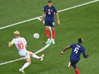 """""""Pogbooom"""" loveste Elvetia pe National Arena! Sutul de la 25 de metri care parca a fost """"pus cu mana"""" in vinclu de starul francez"""