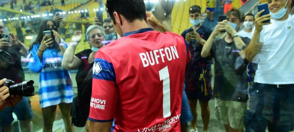"""""""Trebuie sa-i ascultam sfaturile!"""" Mihaila, prima reactie dupa sosirea luiBuffon la Parma. Ce spune despre viitorul sau la echipa din Serie B"""