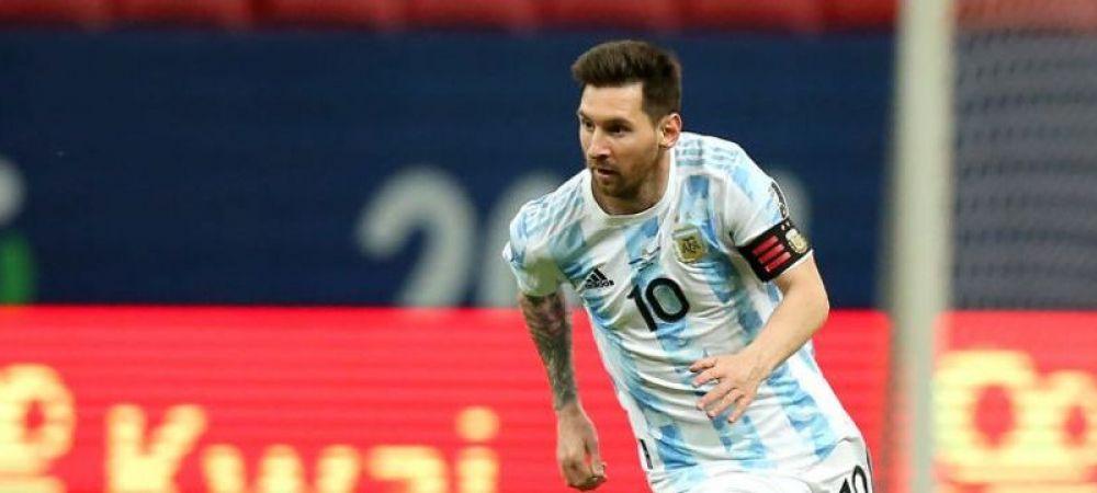 Messi face show la Copa America! Dubla si pasa de gol in Bolivia - Argentina 1-4