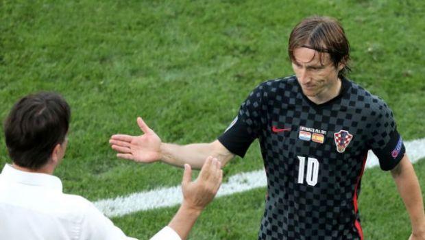 """Dezamagire pentru Luka Modric, dupa ce Croatia a fost eliminata de Spania de la EURO 2020: """"I-am avut în mana"""""""