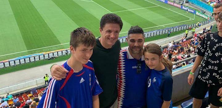 """Gica Popescu, dupa ce a vazut meciul Franta - Elvetia de la tribuna a II-a a Arenei Nationale: """"M-am simtit ca pe vremuri, la Craiova"""""""