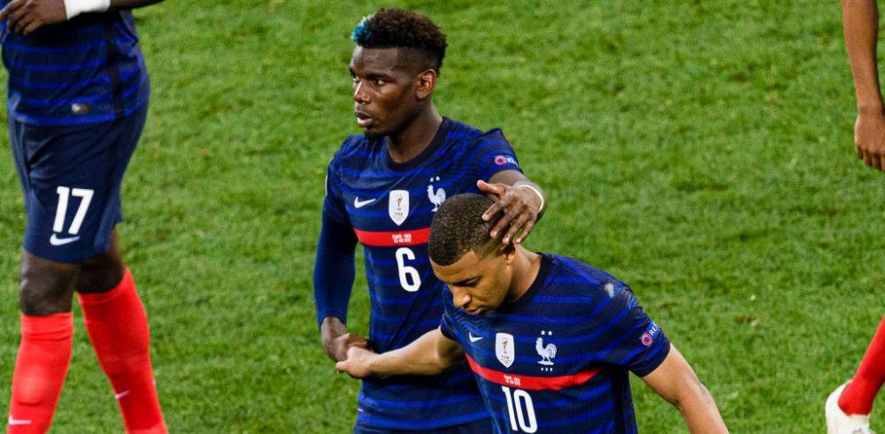 VIDEO   Abia transferat la PSG, fratele lui Mbappe a venit in Romania, pentru a urmari meciul Franta - Elvetia! Si familia lui Pogba a fost prezenta