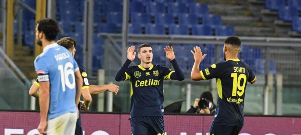 Valentin Mihaila, coleg cu Stefan Radu in sezonul urmator?! Presa din Italia vorbeste de interesul lui Lazio pentru extrema Parmei